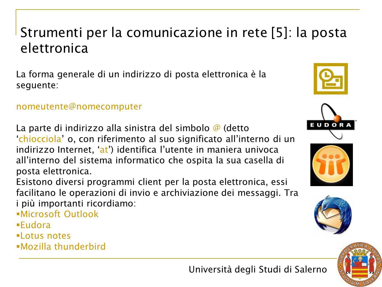 Strumenti per la comunicazione in rete [5]: la posta elettronica